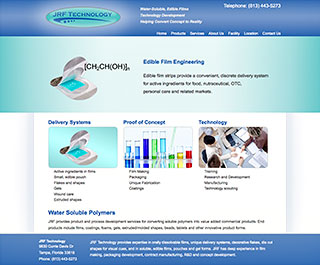 JRF Technologies WordPress Website