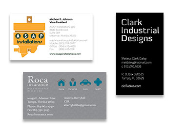 Print Material, Business Cards