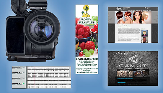 Print, Design, Media, Websites