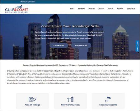 Web Design, Gulf Coast File and Integration