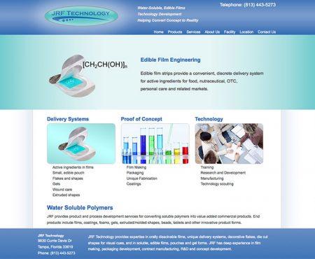 Web Design, JRF Technology