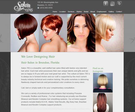Web Design, Salon 705